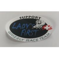 Sticker Oval, Lady's First